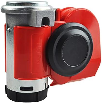 ZHEKAI Twin Dual OFFicial site Tone Compact Air 12V Boston Mall Horn Loud Compre 110-125db