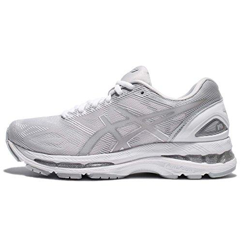 Asics Schuhe Gel-Nimbus 19 Glacier Grey-Silver-White (T750N-9693) 36 Grau