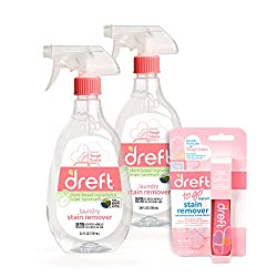 top 10 laundry stain removers Dreft Stain Remover, 24 oz (2 packs) + Dreft Stain Remover Stick