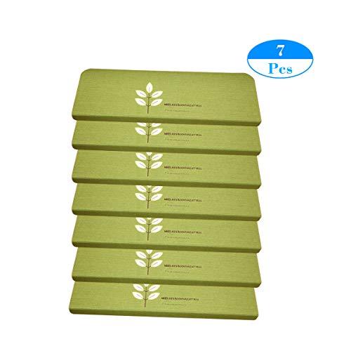 MF trapmat bladeren patroon oplichtend tapijt traptredematten - (31,5