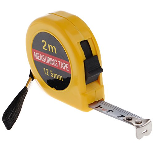 ZChun Mini Pocket 2m intrekbare meetlint liniaal gereedschap Builders Home DIY garage regel