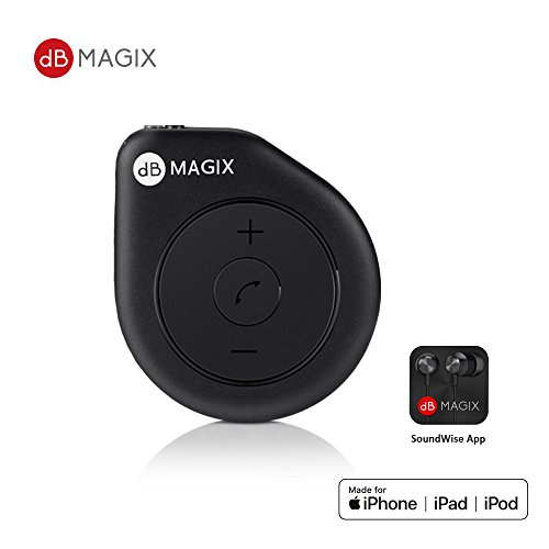 dB MAGIX AC1 MFi Certified Hi-Fi Lightning Headphone Mini Amp (Exceptional Sound from APE/FLAC/WAV Playback for Music Lovers) Lightning to 3.5mm with...