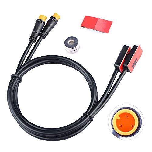 JUNSTAR Bafang Elektrofahrrad Ebike Bremssensor Kompatibel mit Hydraulischer und Mechanischer Bremse Mittelmotor Nabenmotor, Mittelmotor