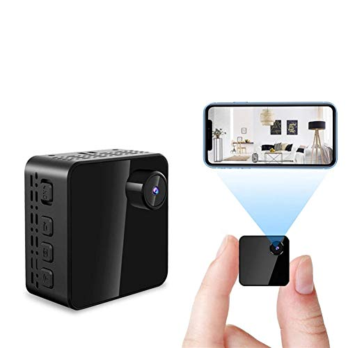 NDHENG Mini Spy Camera 1080P Hidden Camera, Portable Small HD Nanny Cam with Night Vision and Motion Detection, Perfect Indoor Covert Security Camera for Home and Office