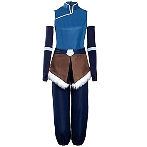 BMDHA Disfraz de anime de la leyenda de Korra para cosplay, disfraz de Halloween, talla M
