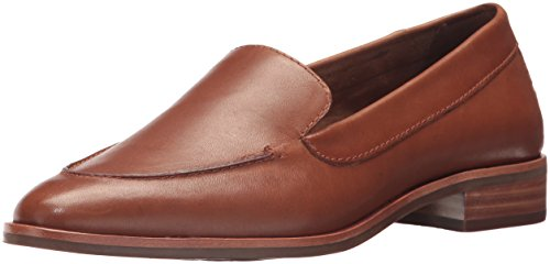 Aerosoles Womens East Side Loafer, Dark tan Leather, 6 M US