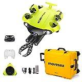 movesea Drone subacqueo FIFISH V6S 200m VR Braccio robotico HDMI Custodia Gialla con Ruote QYSEA 8500493