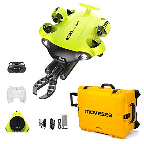 Underwater Drone FIFISH V6S 100m cable Robotic Arm with Yellow Case 8500561
