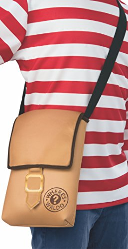 Rubie's - Party Supplies - Where's Waldo? Messenger Bag unisex-adults One...