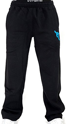 REDRUM joggingbroek casual streetwear heren regular fit sportbroek met boxerbund model Bronx