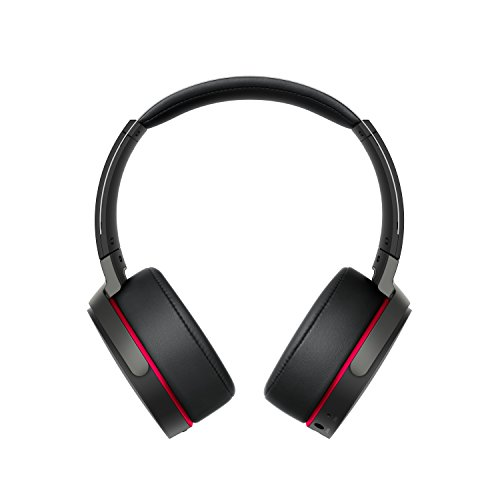 Sony MDR-XB950B1B - Auriculares inalámbricos Extra Bass (Bluetooth, 18 Horas de batería, aplicación Connect para optimizar ajustes de Sonido) Color Negro