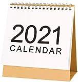 September 2020 - December 2021 Desktop Calendar Monthly Planner Daily Calendar Planner for Students, Office Workers, Housewives