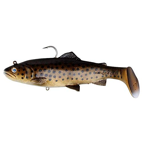 Savage Gear - 3D Trout Rattle Shad 27,5cm 225g Dark Brown Trout