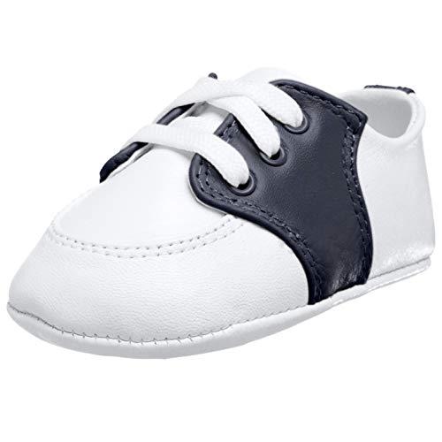 Baby Boys Soft Sole Infant Prewalker Toddler Sneaker Shoes 3-6 Months Light Blue