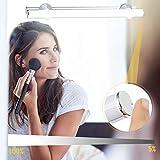 Kohree LED Spiegelleuchte Batteriebetrieben Dimmbar Aufladbar Make-up Licht, Schminklicht, als...