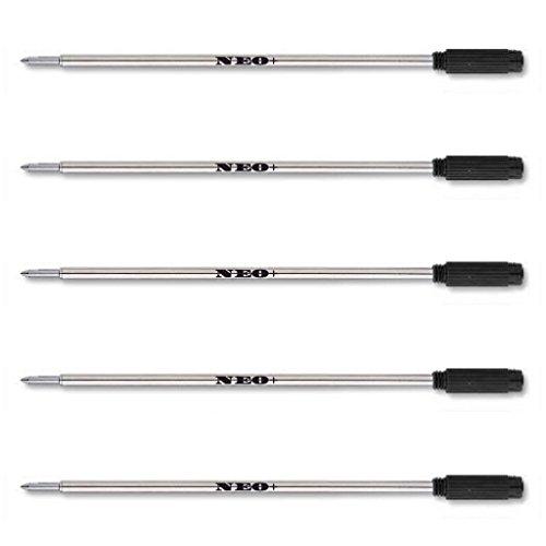 Recambios para bolígrafo, compatibles con 8513 Cross, color 5 x BLACK INK