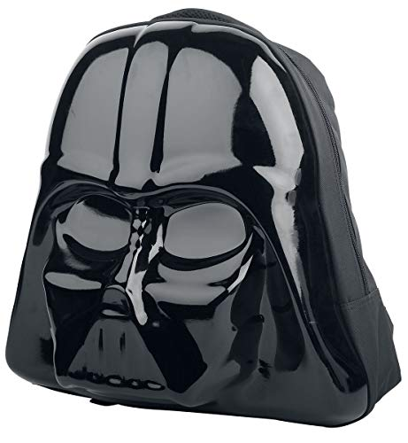 STAR WARS Star Wars The Force Awakens Darth Vader Mask 3D Shaped Backpack  (Bp091408Stw) Mochila tipo casual 45 centimeters  Negro (Black)