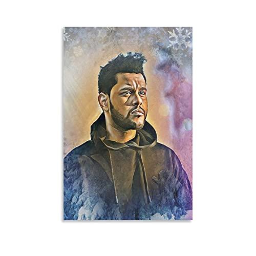 The W.e.e.k.n.d XO Starboy Poster Stampa The Weekend Trilogy Rap Rock Hip Hop DJ (6) Stampa artistica su tela e stampa artistica da parete, 60 x 90 cm