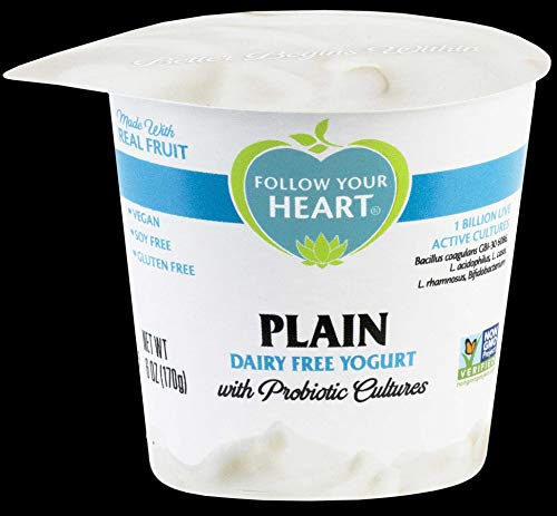 Follow Your Heart Dairy Free Plain Yogurt, 5.3 Ounce -- 12 per case.