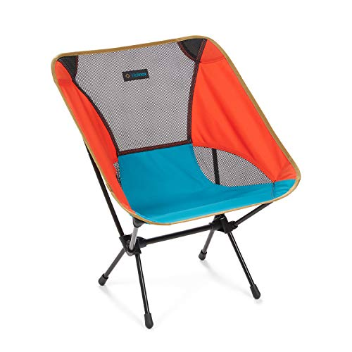 Helinox Chair One Original Lightweight, Compact, Collapsible Camping Chair, Multi Block