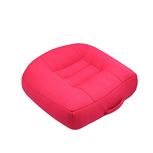 ZALE Waist protection Seat Cushion, Pillow Seat Massage Chair Cushion, Heightened Non-slip Chair Cushions, for Office and Home Use stress reliever (Color : A, Size : 40x40x6cm)