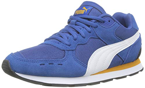 Puma Vista Jr Sneaker Unisex-Kinder, Blau (Galaxy Blue-Puma White-Golden Orange), 39 EU