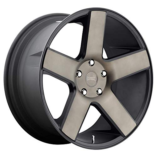 DUB Baller 26 Black Flake Wheel / Rim 6x5.5 with a 31mm Offset and a 78.1 Hub Bore. Partnumber S116260077+31