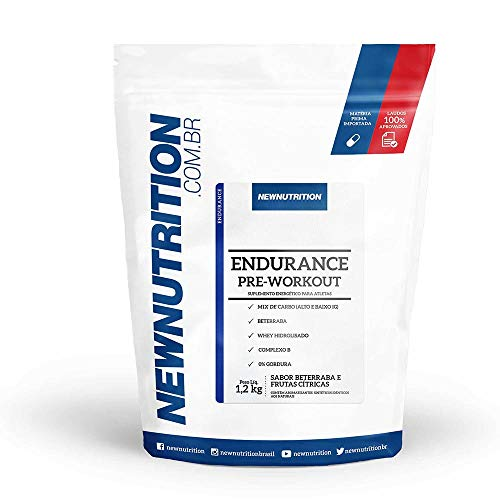 Endurance Pré Workout 1,2kg Frutas Citricas NewNutrition