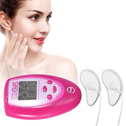 Masseur électronique de visage, électrodes faciales pour le