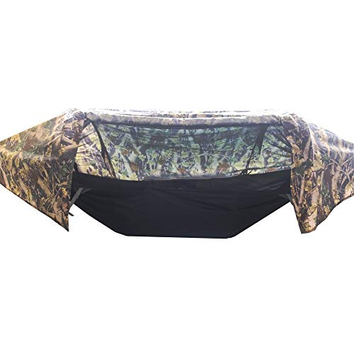 MyWheelieBin Hanging Off The Ground Tree Tent Outdoor Camping Fishing Waterproof Mosquito Hammock Camouflage individual Camouflage