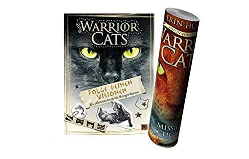 Beltz & Gelberg Verlag Warrior Cats - Folge deinen Visionen: EIN Aktivitätsbuch für Krieger-Katzen (Gebundene Ausgabe) + Warrior Cats Poster by Collectix