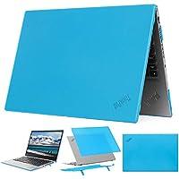 """mCover - Carcasa rígida para Lenovo ThinkPad X1 Carbon G7 de 14"""" (Compatible con portátiles de 7ª generación 2019) - X1-Carbon-G7 Aqua"""