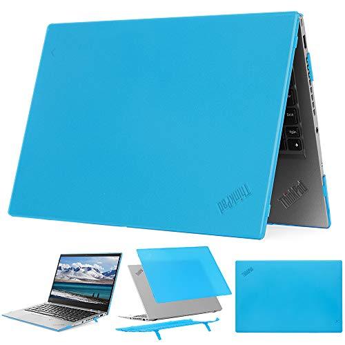 mCover - Carcasa rígida para Lenovo ThinkPad X1 Carbon G7 de 14' (Compatible con portátiles de 7ª generación 2019) - X1-Carbon-G7 Aqua