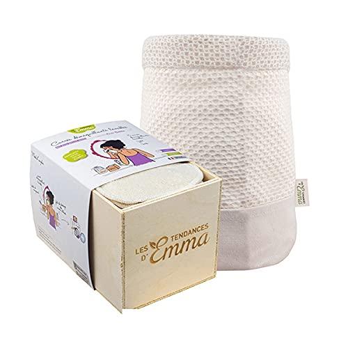 LES TENDANCES D'EMMA - Kit Eco Belle Bois Coton Bio Biface - L'unité
