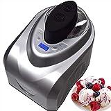 Syntrox Germany Eismaschine mit Kompressor-Frozen Yogurt-Milchshake Maschine-Flaschenkühler Gino Gelati GG-180W