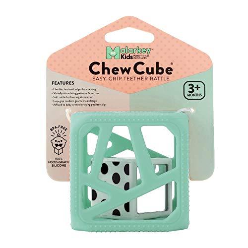 マラーキーキッズ チューキューブ 歯がため Mint Green MK-CC03M(1個)【マラーキーキッズ(Malarkey Kids)】