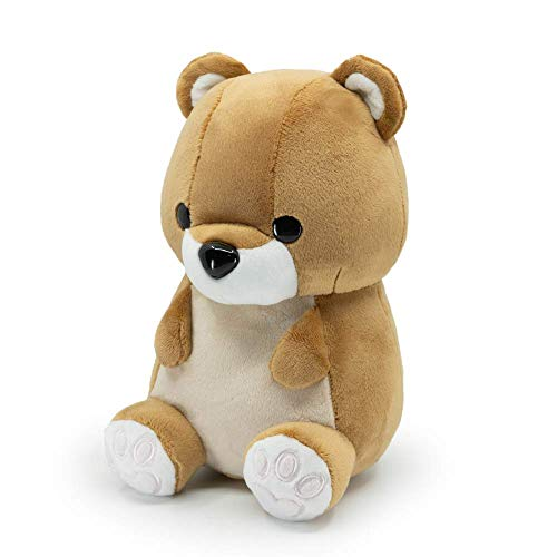 Bellzi Teddy Bear Cute Stuffed Animal Plush Toy - Adorable Soft Brown Grizzly Bear Toy Plushies and Gifts - Perfect Present for Kids, Babies, Toddlers - Teddi