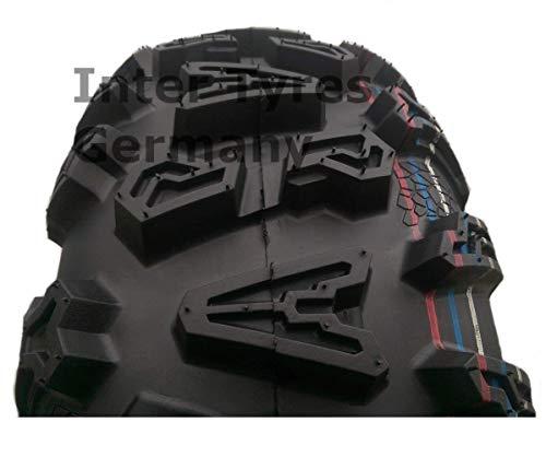HAKUBA ATV Quad Buggy - Neumático (25 x 8-12, P390, 25 x 8,00-12)