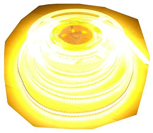 AS-S Bande LED ultra haute puissance 5300 lm 5 m 1200 LED dans une gamme Blanc chaud 24 V (sans bloc d'alimentation)
