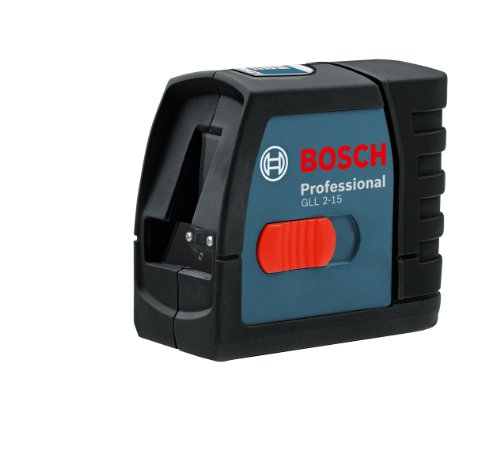 Bosch GLL 2-15 Self-Leveling Cross-Line Laser Kit- Discontinued by...