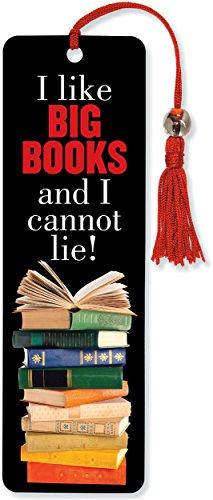 I Like Big Books Beaded Bookmark