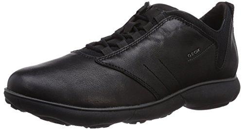 Geox Men's Mnebula11 Walking Shoe, Black, 43 EU/10 M US