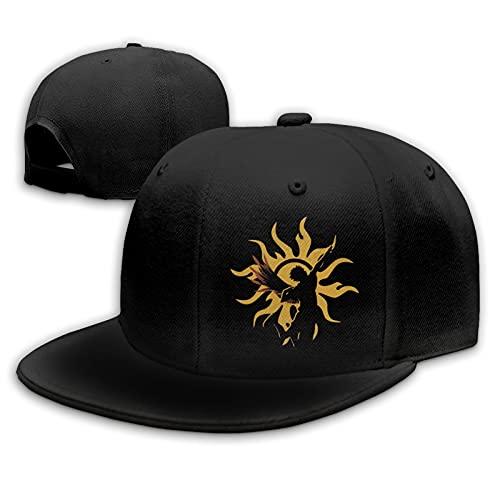Haikyuu Team Karasuno Gorras de béisbol Unisex Flat Bill Sombreros para el Sol Ajustables Sombrero de Hip Hop Baseball Caps