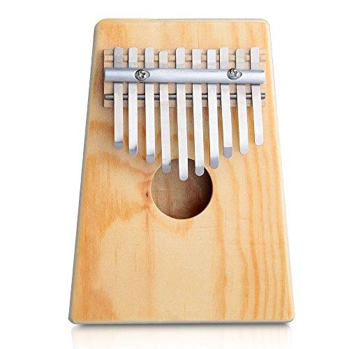 Crazo Kalimba Calimba 10 Pulsaciones Percusión Africana Thumb Piano