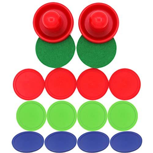 TOYANDONA 3 Sätze von 24 Stück Air Hockey Paddel Hockey Griffe Paddel Ersatz Hockey Griffe Paddel für Kinder Erwachsene