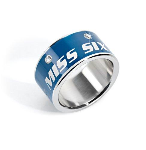 Miss Sixty Precious SMGQ09 - Anello da donna in acciaio INOX e Acciaio inossidabile, 54 (17.2), cod. SMGQ09014