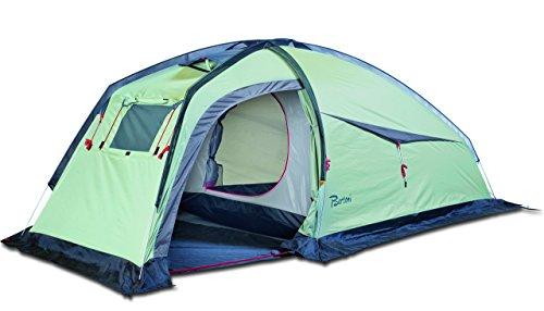 Bertoni Tende Spider Tenda da Campeggio, Escursionismo e Mototurismo Verde Chiaro/Grigio, Verde Chiaro, Unica