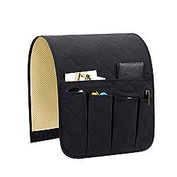 top rated Teniux non-slip sofa, sofa, armchair, armrest, organizer with 5 pockets, caddy armchair for smartphone, … 2021