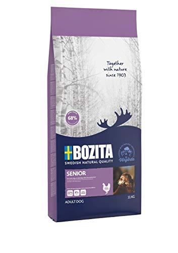 BOZITA Senior Hundefutter - 11 kg - nachhaltig produziertes Trockenfutter für Senior Hunde - Alleinfuttermittel