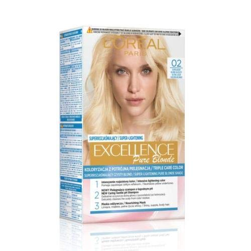 L'oreal Loreal Excellence Creme Haarfärbemittel 02 Superhelles Goldenes Blond1